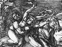 The Abduction of Persephone' by Albrecht Durer