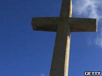 A crucifix.
