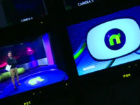 The Newsround studio
