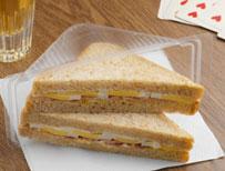 Sandwich in a pack