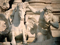 Detail of fountain