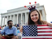 Celebrations in Washington DC