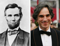 Abraham Lincoln and Daniel Day-Lewis
