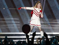 Madonna in Moscow