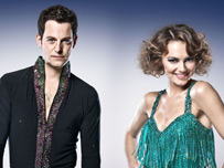 Kara Tointon and Matt Baker