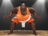 Heaviest sportswoman