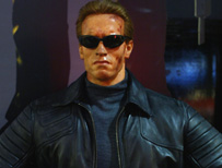 Terminator waxwork