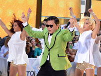 Psy performing live on US TV