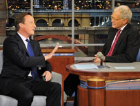 Cameron and Letterman