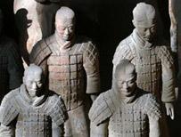 Emperor Qin's terracotta soldiers