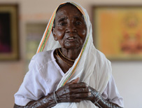 elderly Indian woman