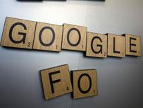 Tiles spelling Google