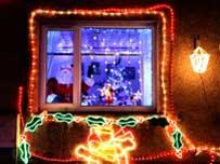 Plean christmas lights
