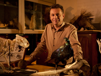 Chris Packham on Nature's Weirdest Events (c) BBC