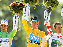 2012's leading Tour de France riders
