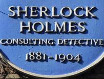 Holmes plaque