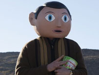 Fassbender as Sidebottom