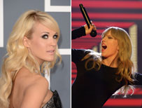 Carrie Underwood and Taylor Swift