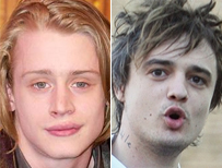 Macaulay Culkin and Pete Doherty