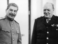 Stalin and Churchill