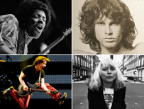 Hendrix, Morrison, Harry, and Van Halen