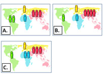 maps of population distribution