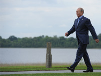 Vladimir Putin in Northern Ireland