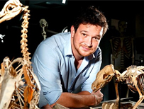 Ben Garrod and skeletons