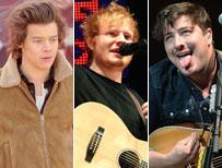 Styles, Sheeran, Mumford
