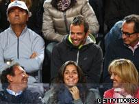members of Nadal's family
