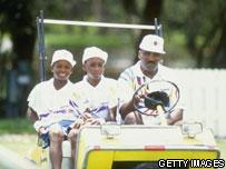 Serena, Venus and Richard Williams