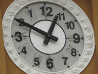 Clock in Bolivia