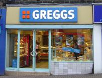 A Greggs bakery
