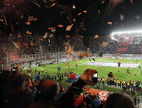 San Lorenzo's Pedro Bidegain stadium in Buenos Aires