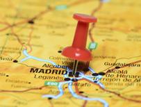 Madrid on map