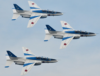 Japan's Air Self Defense Force aerobatic display team