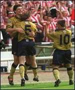 [ image: Niall Quinn got two goals]