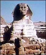 [ image: The Sphinx before ...]