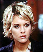 meg ryan determined to be the blondest ryan says only one blonde to