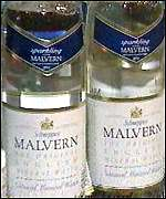[ image: Malvern water: off the shelves]