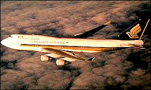 Singapore Airlines 747-400