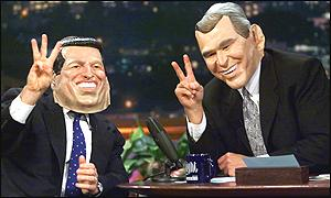 Mr Bush on Jay Leno show