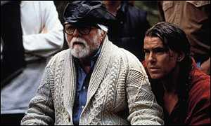 Pierce Brosnan and Richard Attenborough