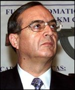 Former intelligence chief Vladimiro Montesinos