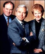 James Naughtie, John Humphrys and Sue Macgregor