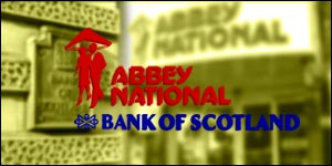 Abbey National, Bank of Scotland graphic