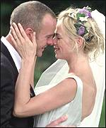 Norman Cook and Zoe Ball's wedding