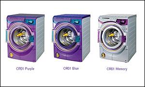 Contrarotator washing machines