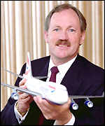 British Airways chief executive Rod Eddington