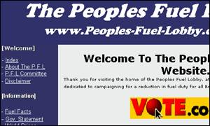 People's Fuel Lobby BBC